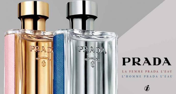 Prada - La Femme Prada L'Eau & L'Homme Prada L'Eau_الثنائي الخطير من برادا عطر لا فيمي برادا ليو ولا هوم برادا ليو