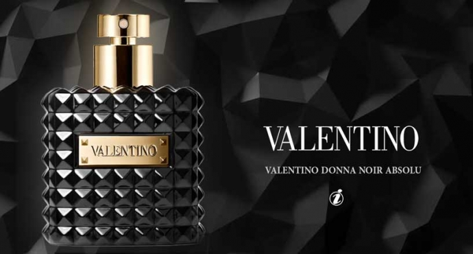 Valentino - Valentino Uomo Noir Absolu & Valentino Donna Noir Absolu_عطرا الأناقة والرقة من فالنتينو: فالنتينو أومو نوار أبسولو وفالنتينو دونا نوار أبسولو