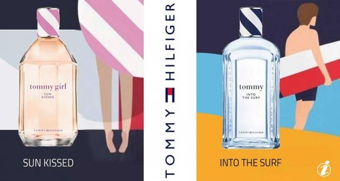 Tommy Hilfiger - Tommy Into The Surf & Tommy Girl Sun Kissed_نظرة قريبة لعطري تومي هيلفيغر الصيفية: تومي انتو ذا سيرف وتومي جيرل صن كيسد
