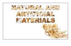 مواد-طبيعية-واصطناعية