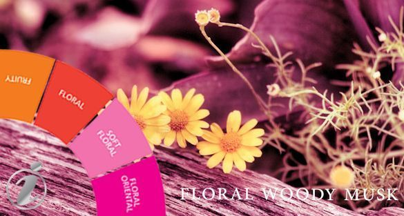 زهري خشبي مسك Floral Woody Musk