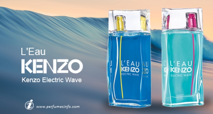 a7e9432ed Kenzo L'Eau par Kenzo Electric Wave_مجموعة عطور جديدة من كنزو ليوبار كنزو  اليكتريك ويف
