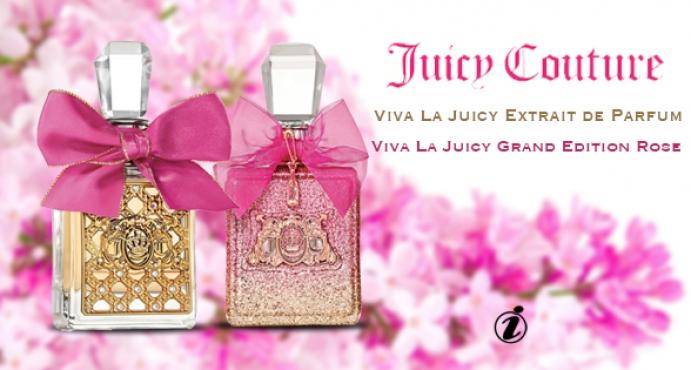 0b6d044dc Juicy Couture Viva La Juicy Extrait de Parfum and Viva La Juicy Grand  Edition Rose_ جديد