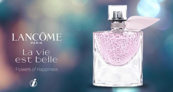 Lancome La Vie Est Belle Flowers of Happiness_عطر السعادة لانكوم لا في است بيل فلاورز أوف هابينس