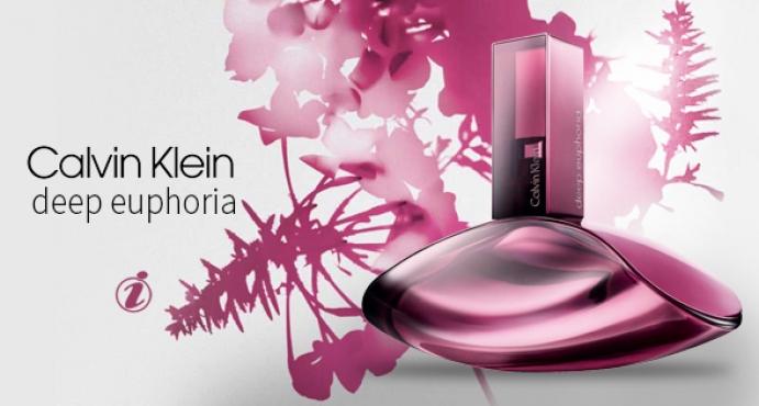 New perfume Deep Euphoria Eau de Toilette Calvin Klein
