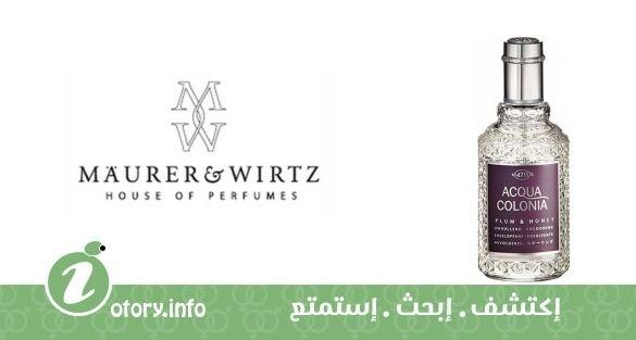 عطر 4711 أكوا كولونيا بلام & هاني ماورر & ويرتز  -  perfume 4711 Acqua Colonia Plum & Honey Maurer & Wirtz