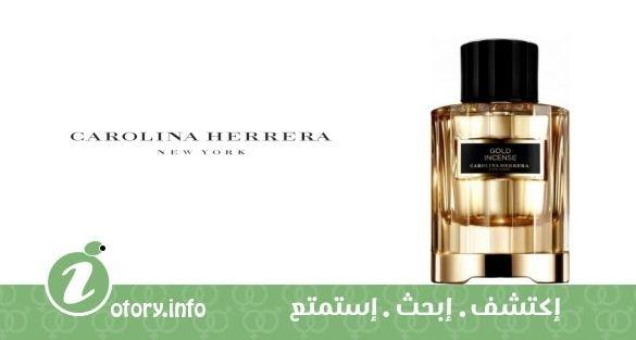 36853661f عطر كارولينا هيريرا غولد إنسينس - Gold Incense