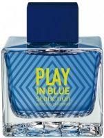 Play In Blue Seduction For Men-عطر  أنطونيو بانديراس بلاي إن بلو سيكشين فور من